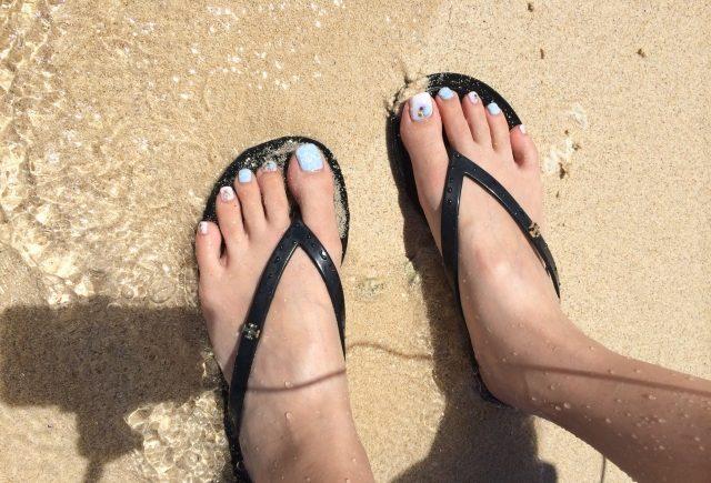 ジェルネイル 海 とれる
