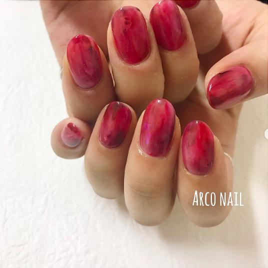 シンプルネイル ネイルデザイン 福岡 arco nail 2017-10-29 16-23-50
