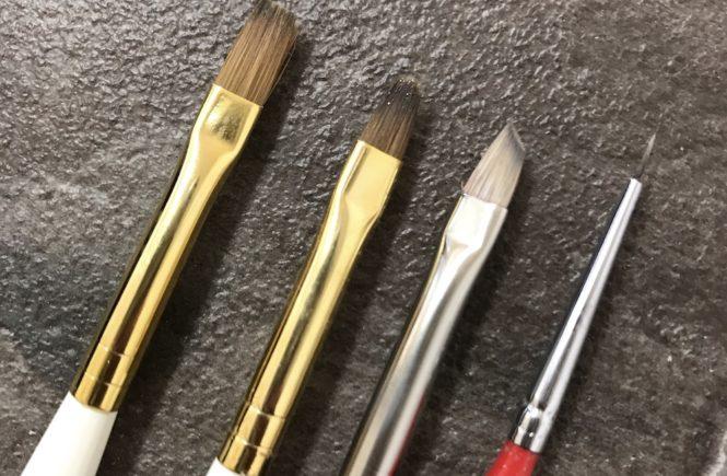 ジェルネイル 道具 おすすめ 筆(ブラシ)