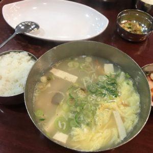 ソウル グルメ 干し鱈スープ3