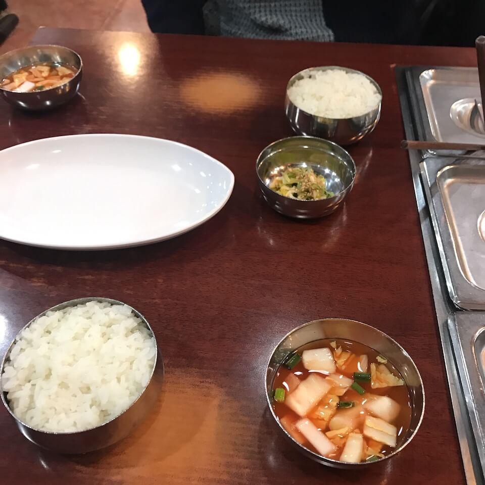 ソウル グルメ 干し鱈スープ2