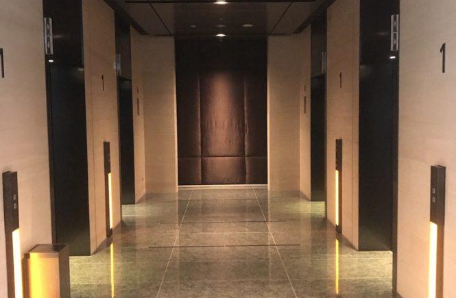 ハイレジャーギフト券 使い方 福岡カウンター 電気ビル ホテルのロビー