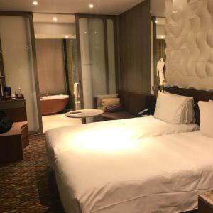 シンガポール空港 ホテル 部屋の様子