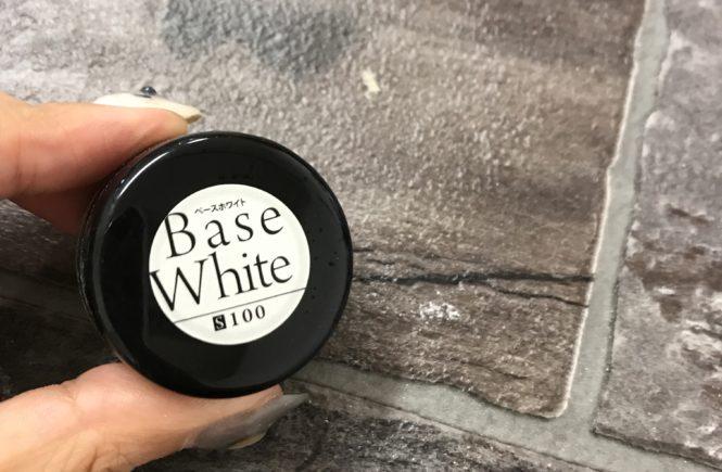 カラージェル 使える色 発色がいい プリジェル ベースホワイト
