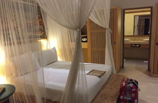 バリ島 3泊5日 プラン 費用 Villa Bali Asri Batubelig(ヴィラ バリ アスリ バツベリグ)ベッド