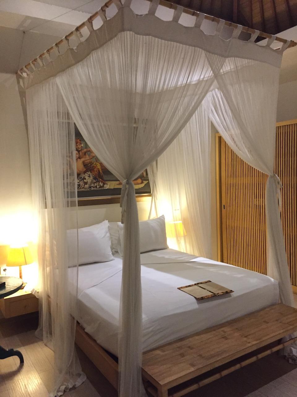 バリ島 3泊5日 プラン 費用 Villa Bali Asri Batubelig(ヴィラ バリ アスリ バツベリグ)ベッド2