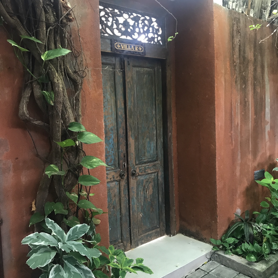 Villa Bali Asri Batubelig(ヴィラ バリ アスリ バツベリグ)入り口