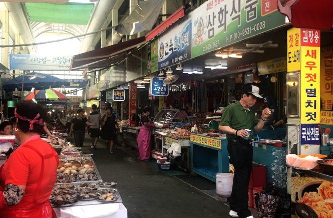 釜山 スーパー おすすめ 釜田市場 お土産