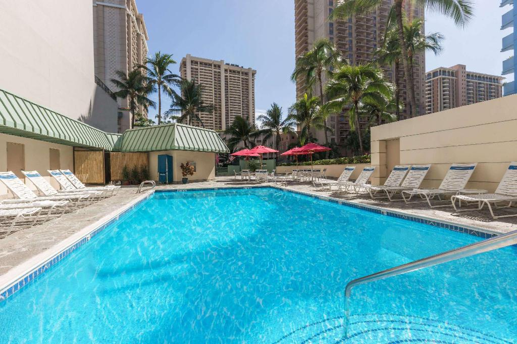 ハワイ ホテル ラマダ プラザ ワイキキの宿泊レビュー