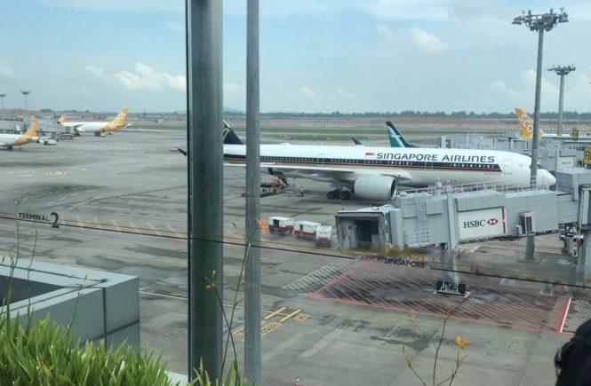 シンガポール航空 HISのツアーで購入
