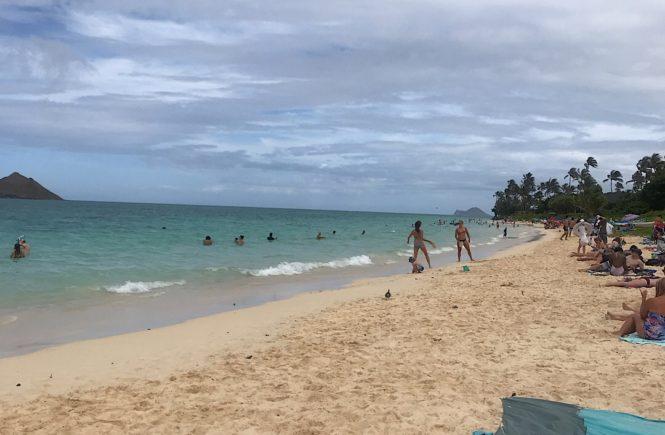 ラニカイビーチ 綺麗