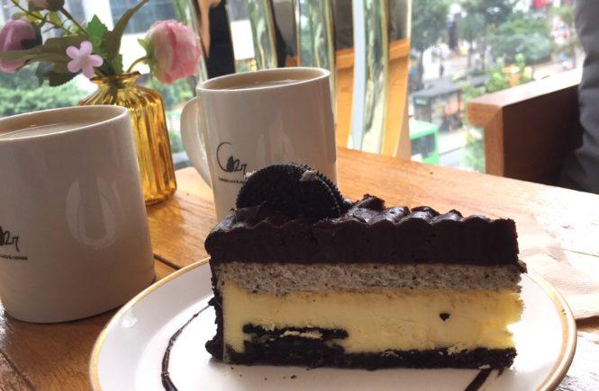 弘大 C21チーズケーキで休憩