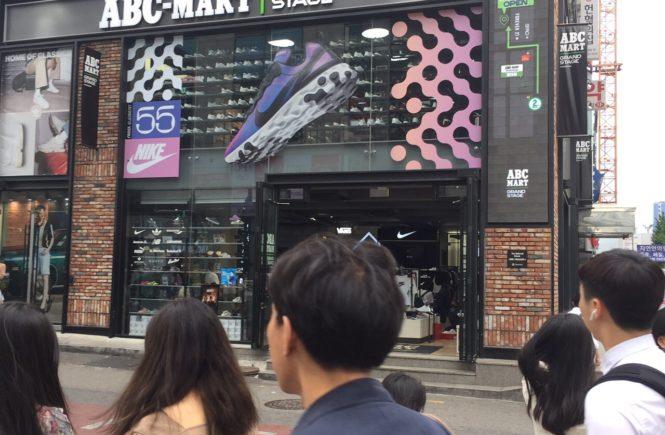 韓国 チャックテイラー 安い ABCマート