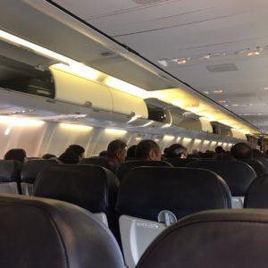 Tway航空で仁川空港から福岡空港へ