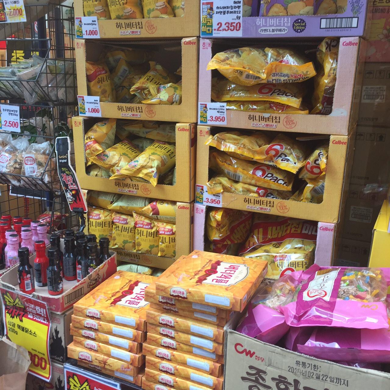 韓国 お土産 スーパー お菓子 ワッフル