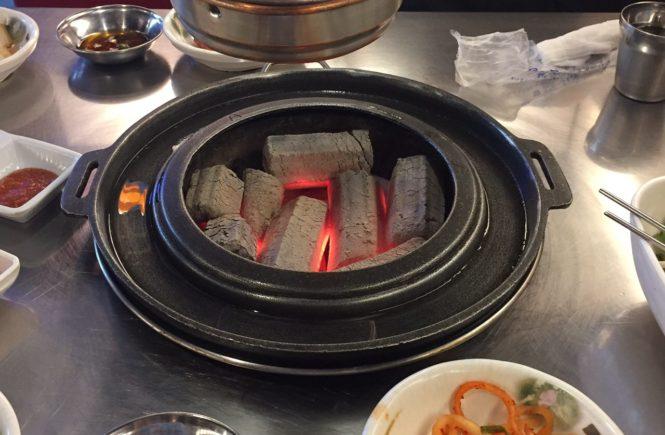 新麻浦カルメギ 炭火