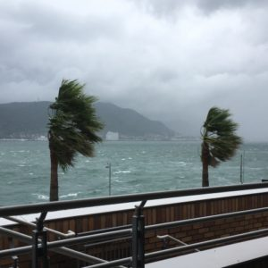 台湾旅行 台風 キャンセル