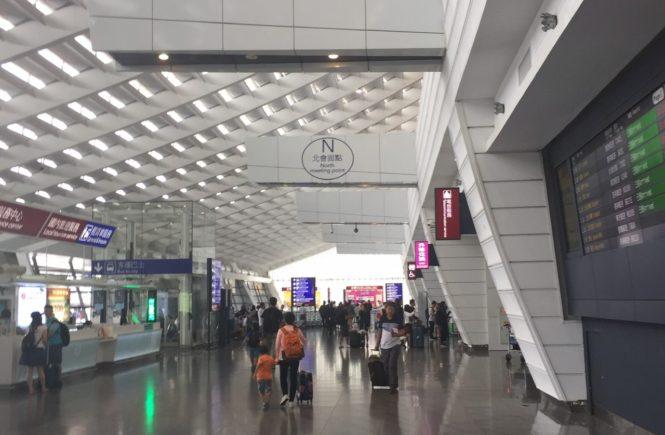 台湾桃園国際空港 両替所の場所