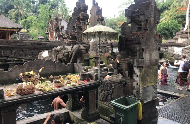 ウブド 観光 おすすめコース ティルタエンプルン寺院