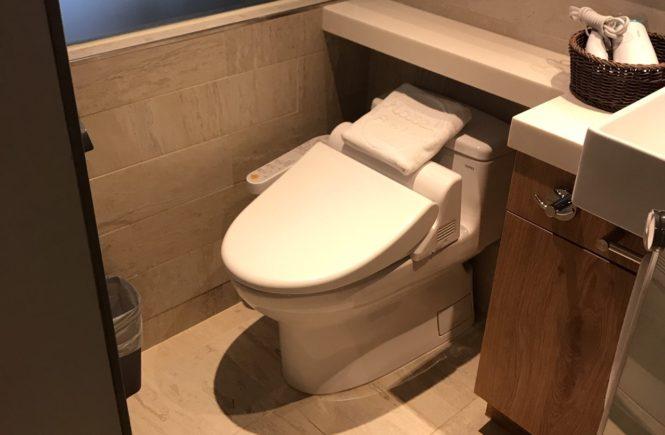 ホテル リラックスV 台北駅前(旅樂序精品旅館5館) トイレ