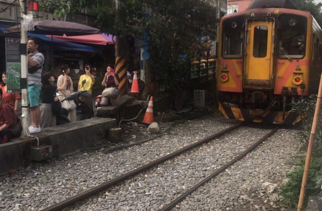 平渓線 台湾鉄道 十分
