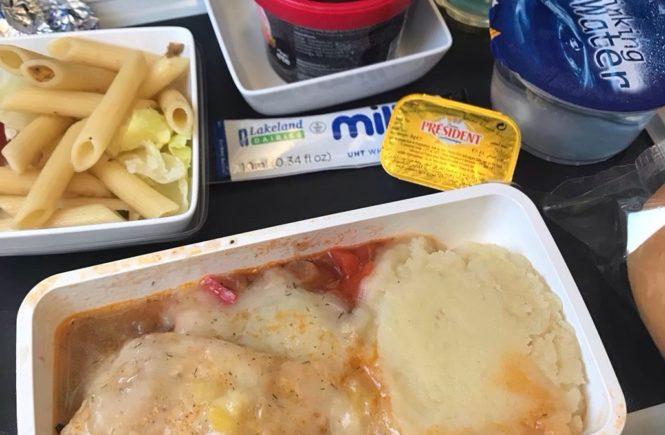 シンガポール航空 機内食 ブログ チャンギーバリ フィッシュ