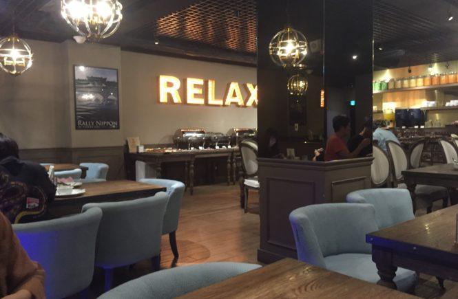 ホテルリラックス2 朝食 地下1階