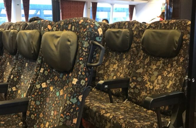 ビートル 座席
