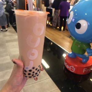 coco都可 タピオカミルクティー 台湾桃園国際空港