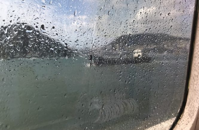 ビートル窓側
