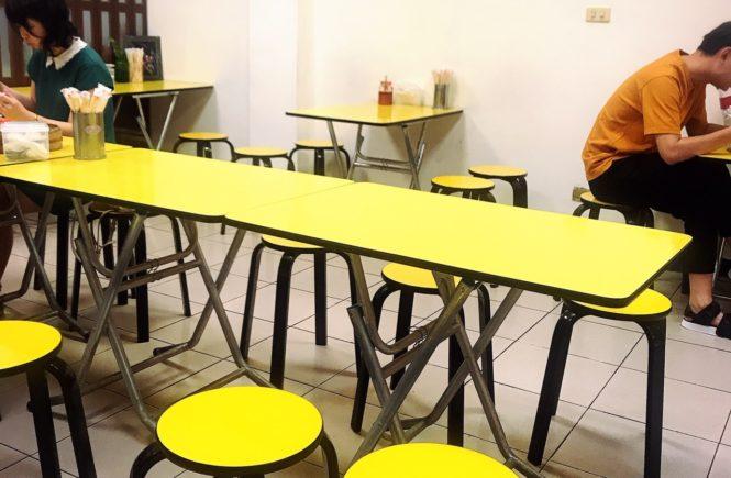 世紀豆漿大王 テーブル