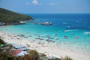 タイ パタヤビーチ ラン島 オプショナルツアー