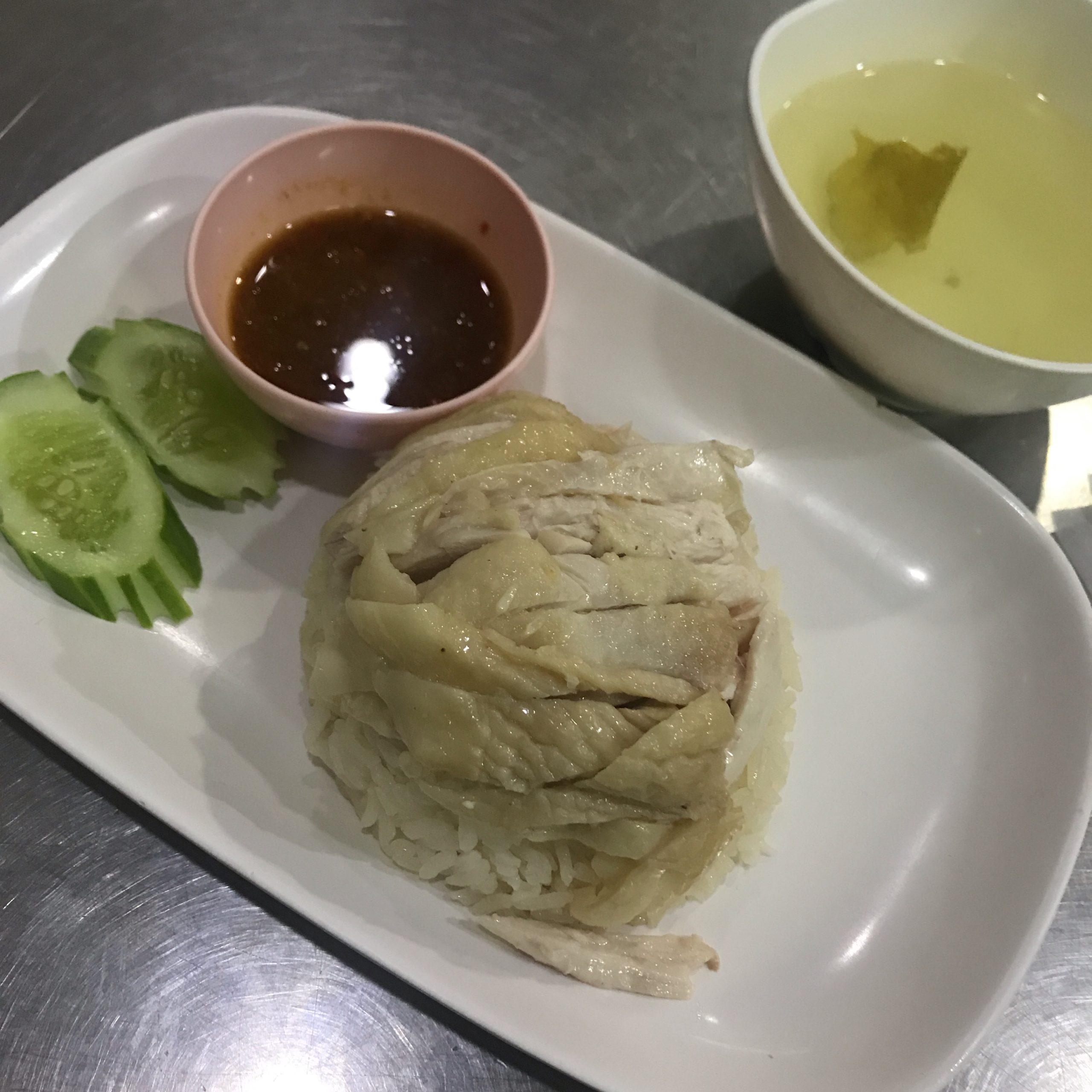 シーロムでカオマンガイを食べるならBTSサラデーン駅から徒歩1分の「ギンヘン」!