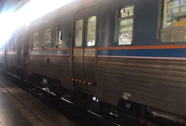 タイ国鉄 電車 乗り方